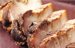 角切り煮豚